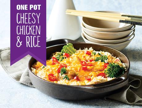 One-pot Cheese Chicken & Rice