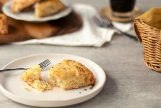 Ham, Cheese and Chives Scones