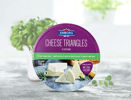 Soft Cheese Triangles