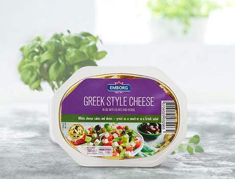 Greek Feta with Olives and Herbs