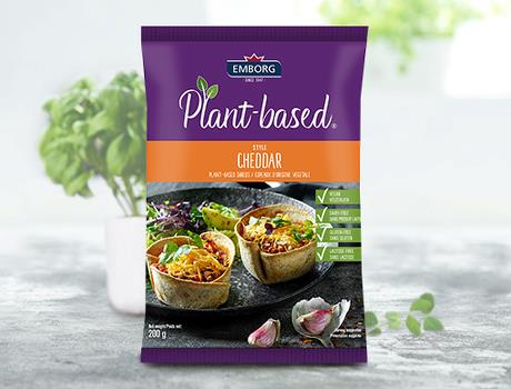 Plant-Based Cheddar Flavoured Shreds