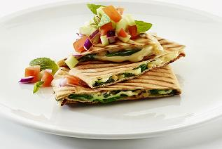 Baby spinach flatbread