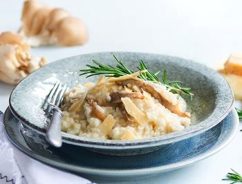 Risotto w. mixed mushrooms