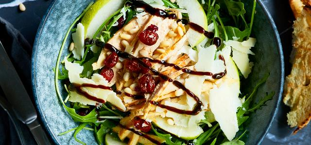Chicken Salad with Pecorino