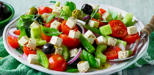 Greek Style with Olives And Herbs