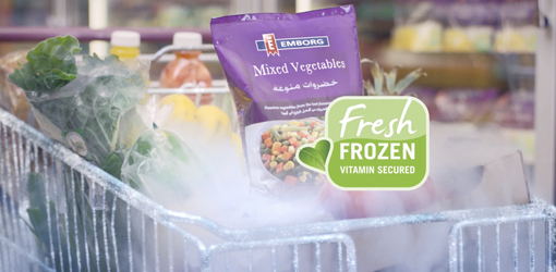 A fresh and tasty garden in your freezer